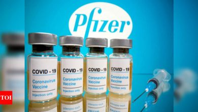 First Covid-19 vaccine shipments arrive in Canada - Times of India