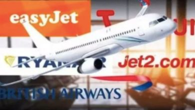 Flights: BA, Ryanair, easyJet, TUI and Jet2 latest updates as travel bans continue