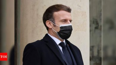 France's Macron blames his Covid-19 on negligence, bad luck - Times of India