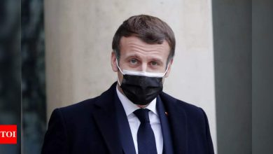 French President Macron tests positive for Covid-19 - Times of India