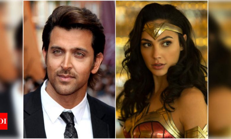Gal Gadot has the sweetest reply for Hrithik Roshan on Twitter! Fans ask for a Krrish-Wonder Woman crossover - Times of India