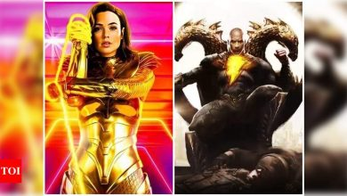 Gal Gadot on Wonder Woman featuring in Dwayne Johnson's superhero film 'Black Adam': Maybe in the future - Times of India