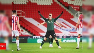 Gareth Bale, Harry Kane fire Spurs into League Cup semis | Football News - Times of India