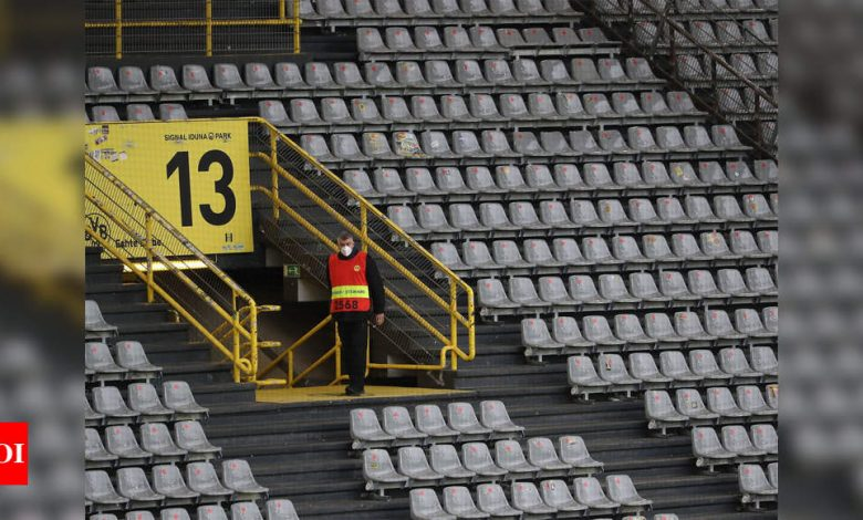 'Ghost tickets': German club sells 72,000 tickets for game in empty stadium | Football News - Times of India