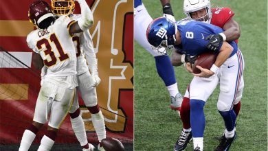 Giants in serious trouble after NFC East nightmare