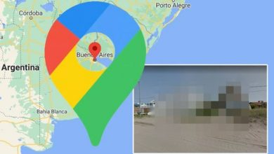 Google Maps Street View: House 'completely censored' by Google in 'strange' photo - why?