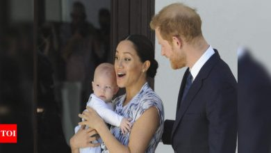 Harry and Meghan's son reveals 'American accent' on podcast - Times of India