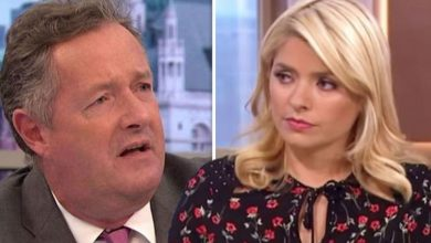 Holly Willoughby caused ITV co-star Piers Morgan's 'alarm bells to ring' with 'smug' text