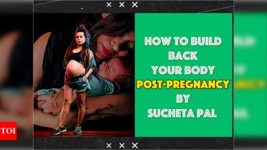 How to build back your body post-pregnancy by Zumba trainer Sucheta Pal - Times of India