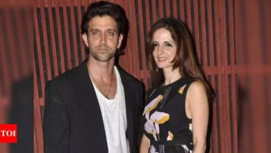 Hrithik Roshan is all praises for his ex-wife Sussanne Khan on her new achievement, says 'well done' - Times of India