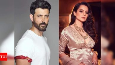 "Hrithik Roshan's 2016 FIR against Kangana Ranaut transferred to CIU; actress reacts, ""His sob story starts again"" - Times of India"
