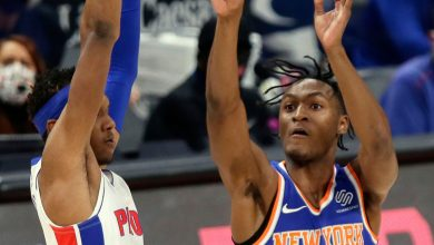 Immanuel Quickley quiet in long-delayed pro debut for Knicks