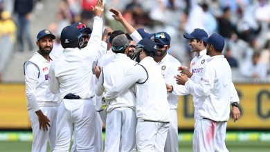In Pics: Australia on the ropes as India close in on Melbourne victory  | The Times of India