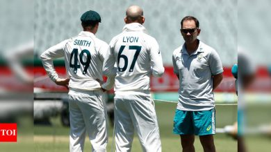 India vs Australia, 1st Test: Steve Smith misses net session due to sore back   Cricket News - Times of India