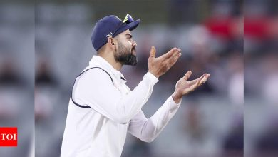 India vs Australia: Virat Kohli leaves for India, asks team-mates to express themselves in remaining Tests | Cricket News - Times of India