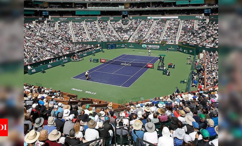 Indian Wells postponed due to COVID-19 concerns   Tennis News - Times of India
