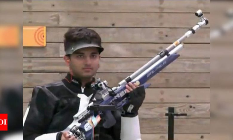 India's Yash Vardhan wins 10m air rifle event in online meet | More sports News - Times of India
