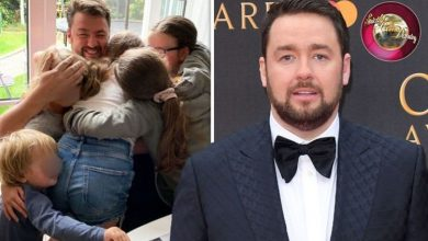Jason Manford was forced to cancel Strictly stint after daughters were born prematurely