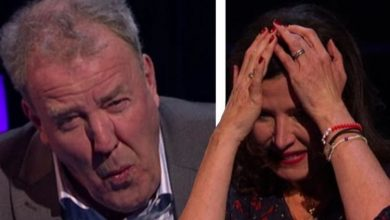 Jeremy Clarkson hides behind ITV screen in shame after epic question fail: