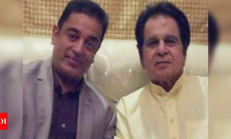 Kamal Haasan pens a heartfelt birthday note for Dilip Kumar: My salute to one of the greatest living Indian artistes in Cinema - Times of India