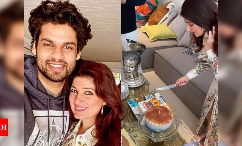 Karan Kapadia shares a sneak-peek of Twinkle Khanna's birthday celebration at home; see PHOTOS - Times of India