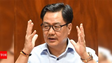 Kiren Rijiju urges people to encourage players by watching sports | More sports News - Times of India