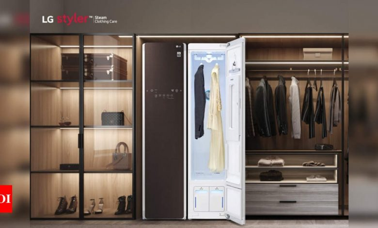 LG Styler clothes steamer and sanitizer launched at Rs 1,60,000 - Times of India