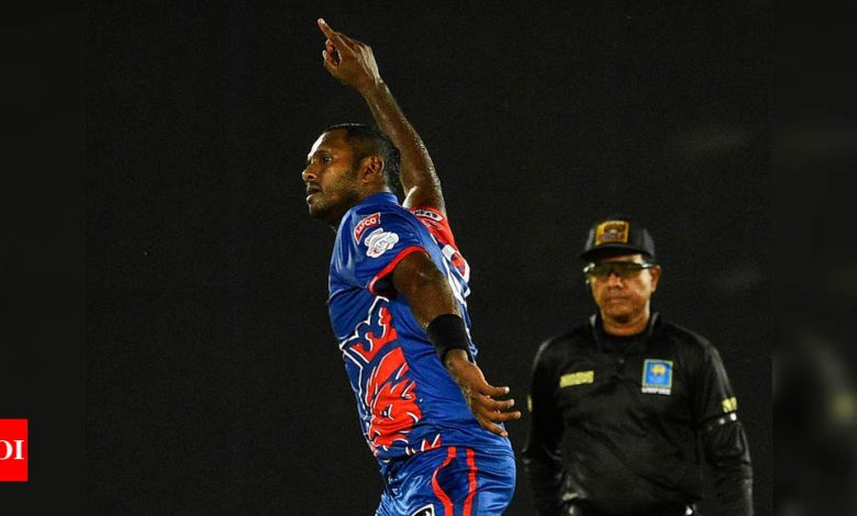LPL: Angelo Mathews bats for IPL-style playoff structure | Cricket News - Times of India