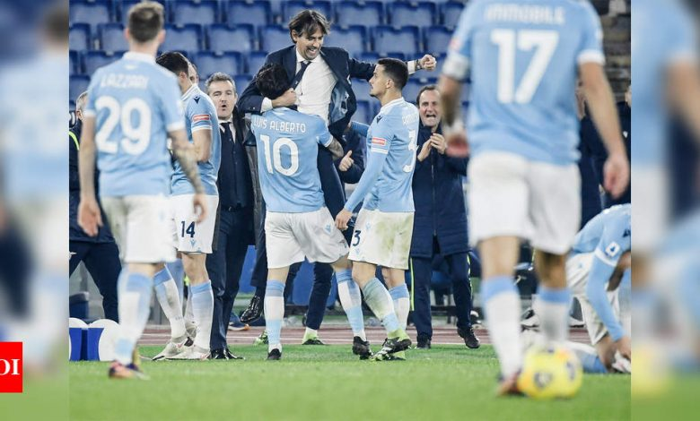Lazio make the most of their chances in to beat Napoli   Football News - Times of India