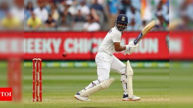 Learnt to see off tough periods by watching Ajinkya Rahane bat: Shubman Gill | Cricket News - Times of India