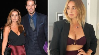 Louise Redknapp 'all dressed up with nowhere to go' in sultry snap after cryptic love post
