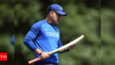 MS Dhoni named captain of ICC Men's ODI Team of the Decade | Cricket News - Times of India