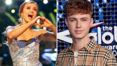 Maisie Smith: Strictly star 'has first kiss' with HRVY backstage after ruling out romance