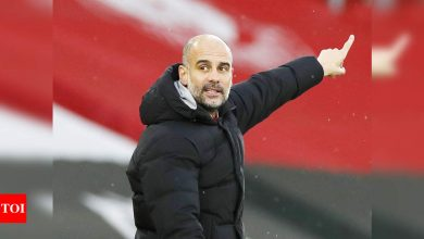 Manchester City cannot rely on Santa for goals, says Pep Guardiola | Football News - Times of India