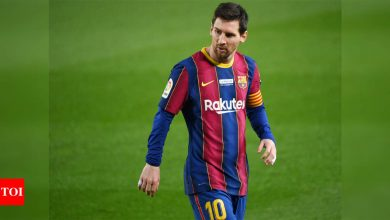 Messi dragged ill feeling from failed Barca exit into this season | Football News - Times of India