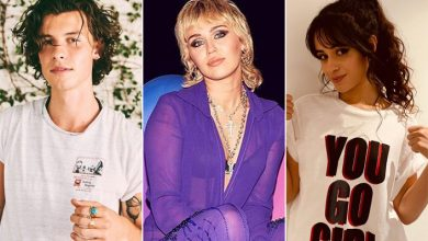 Miley Cyrus Jokes That She Wants To Be The Third Wheel Between Shawn Mendes & Camila Cabello