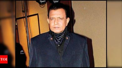 Mithun Chakraborty falls ill on the sets of 'The Kashmir Files'; shoot comes to halt - Times of India