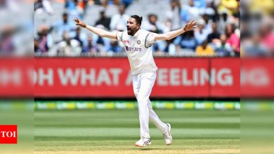 Mohammed Siraj credits India 'A' tours for confident debut   Cricket News - Times of India