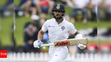 Need to strike fine balance while confronting Virat Kohli, he can be ruthless: Aaron Finch to Australia | Cricket News - Times of India