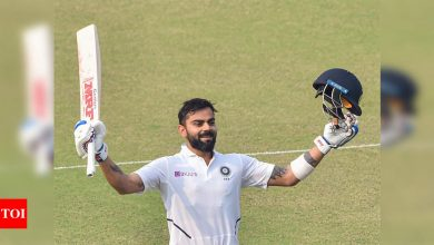 Never strived to be better than everybody, just tried to be the best version of myself: Virat Kohli | Cricket News - Times of India
