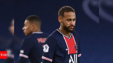 Neymar gets 'reassuring' prognosis after ankle injury: PSG | Football News - Times of India