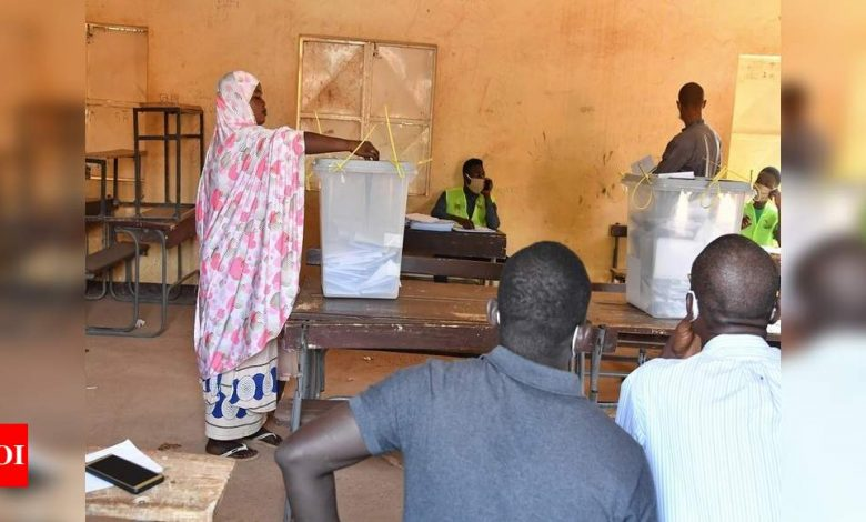 Niger votes in search of first democratic transition - Times of India