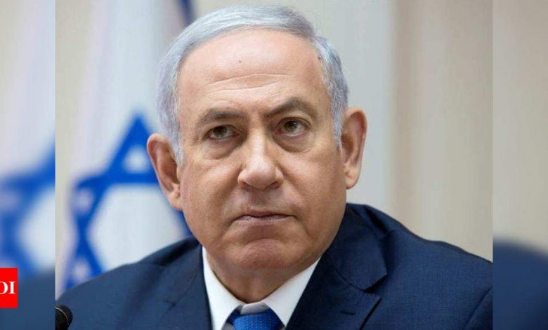 Over 40 per cent Israelis blame Prime Minister Netanyahu for snap elections - Times of India