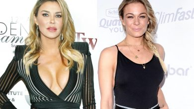PHOTO: Brandi Glanville and LeAnn Rimes Pose Together For Christmas After RHOBH Star Denies Dissing LeAnn