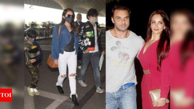 PHOTOS: Did Sohail Khan's wife Seema Khan and their sons join his birthday celebration in Goa? - Times of India