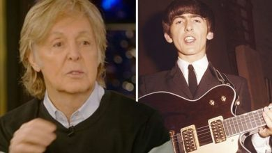 Paul McCartney claims he speaks to late Beatles bandmate George Harrison through a tree