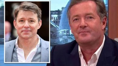 Piers Morgan accuses Ben Shephard of snubbing him on GMB: