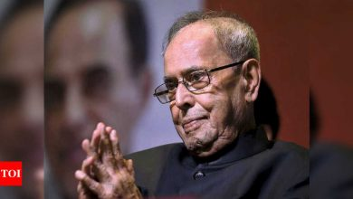 Pranab Mukherjee's presidential memoirs to hit stands in January - Times of India