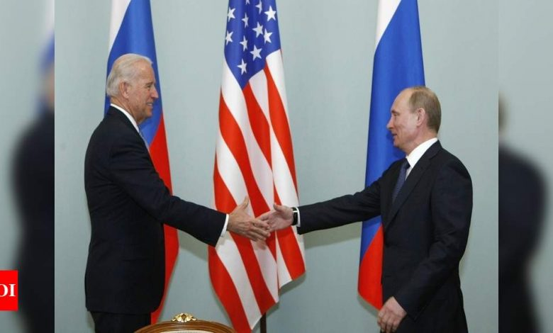 Putin says expecting no change to US ties under Biden - Times of India