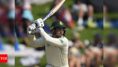 Quinton de Kock happy with South Africa Test captaincy SOS 'for now'   Cricket News - Times of India
